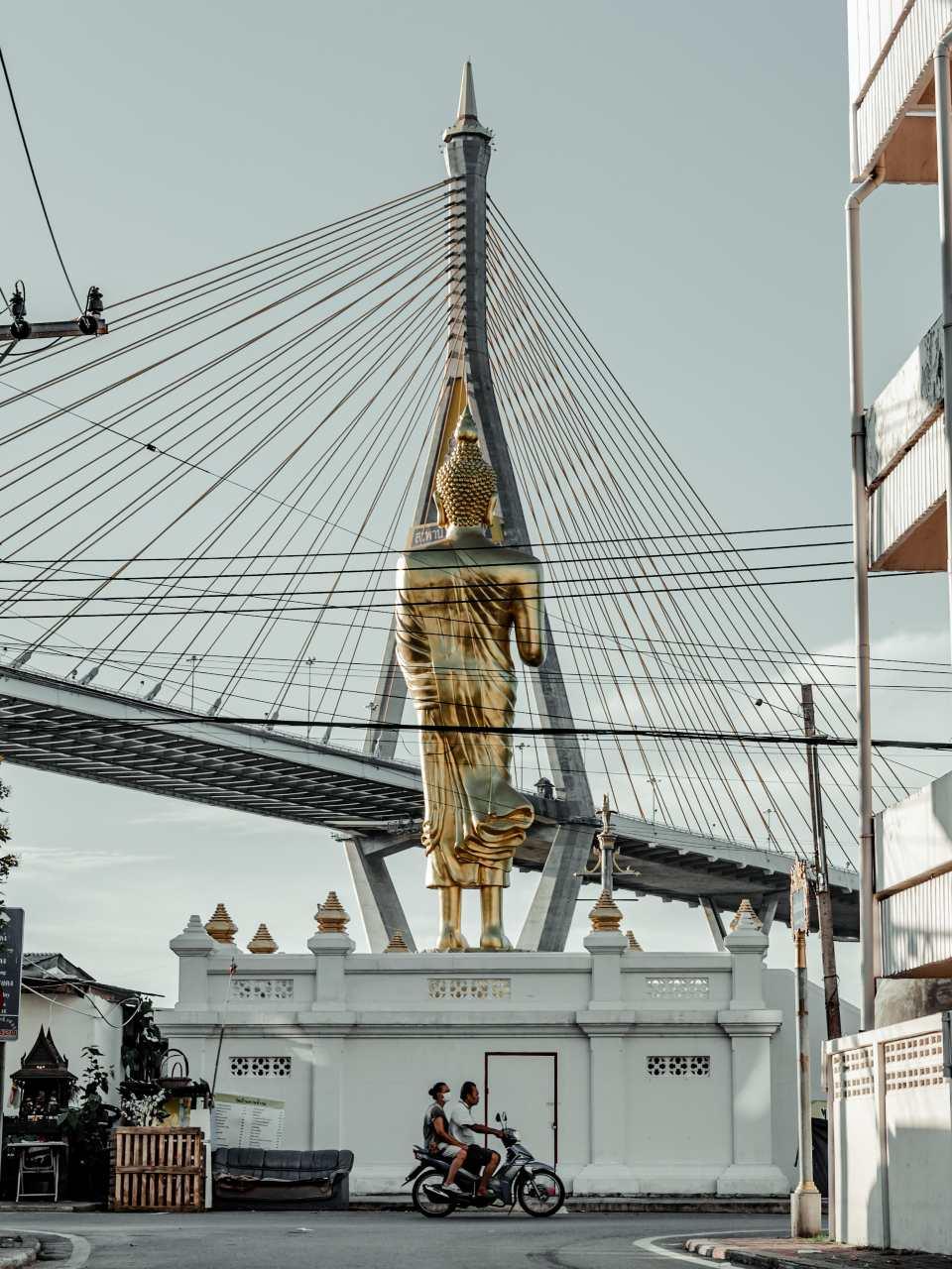 Phra Pra Daeng in Samutprakarn, Thailand