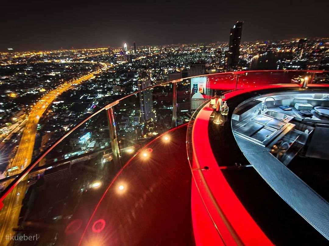 Sky Bar @ Lebua, bekend van de film Hangover in Bangkok