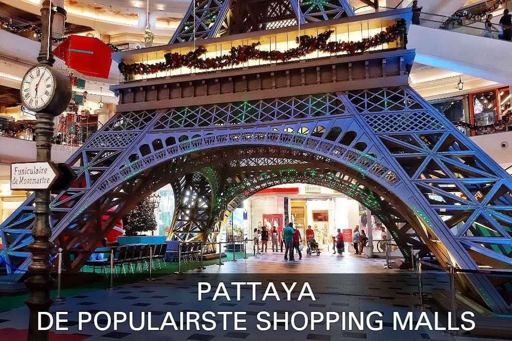 Populairste shopping malls van Pattaya, lees hier verder