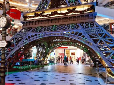 Therminal 21 Pattaya Eifeltoren In Het Winkelcentrum