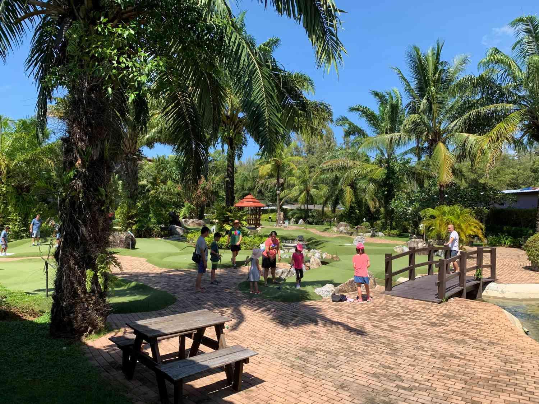Phuket Adventure Mini Golf near Bang Tao Beach on Phuket