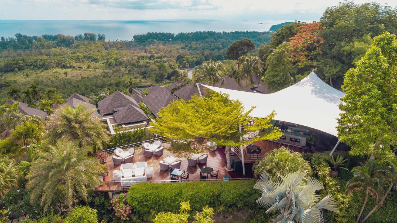 360 Rooftop Bar, onderdeel van The Pavilions op Phuket
