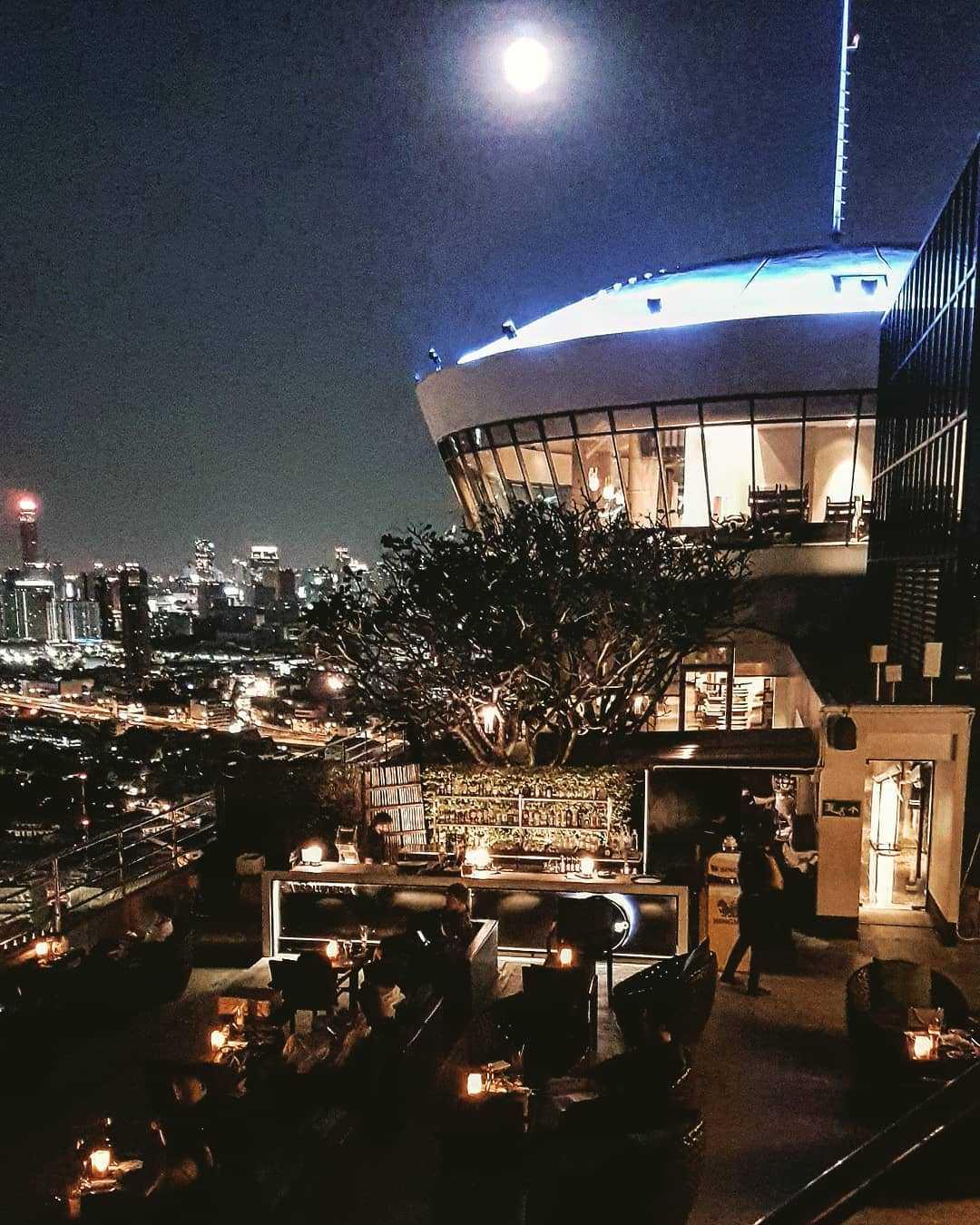 ThreeSixty Jazz Lounge and Rooftop Bar (Millennium Hilton Bangkok)