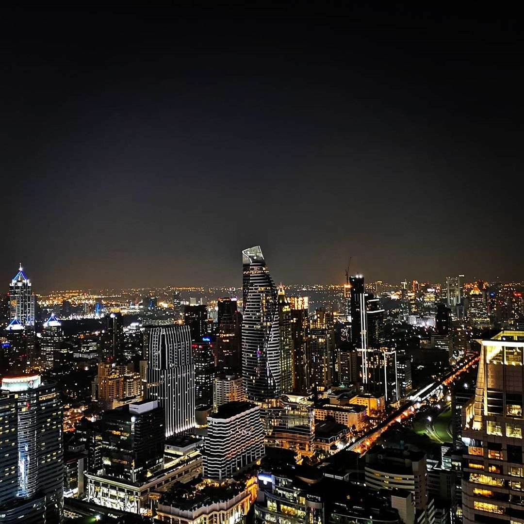 View from Red Sky in Bangkok