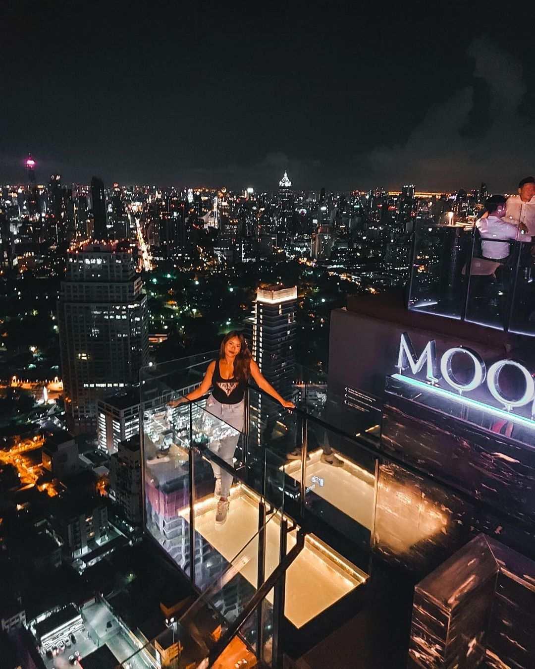 The Vertigo Rooftop and Moon Bar in Bangkok