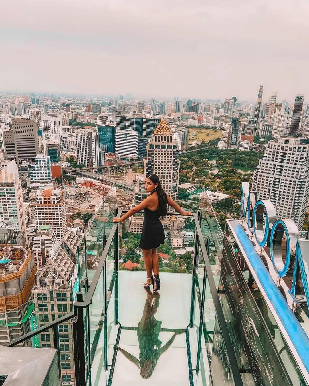 Vertigo Rooftop and Moon Bar in Bangkok