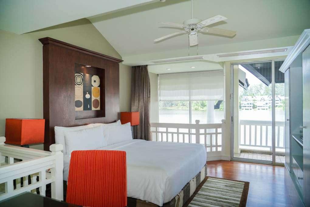Bedroom of the Loft of the Angsana Laguna Phuket
