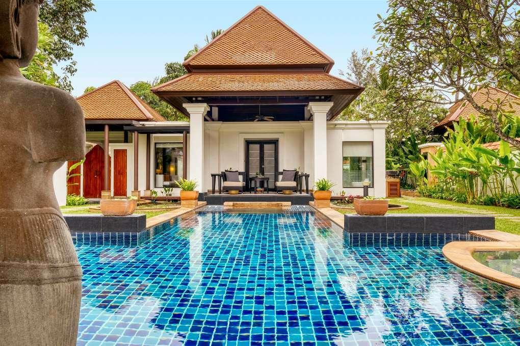 Spa Pool Villa of the Banyan Tree Phuket near Bang Tao Beach