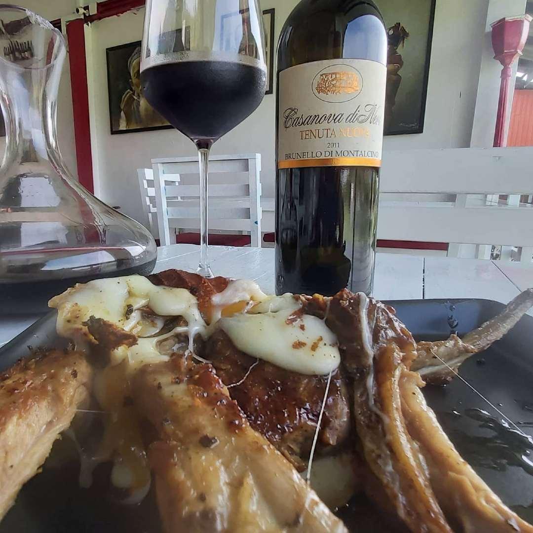 Good wine and good food at Babylon in Boat Avenue near Bang Tao beach on Phuket