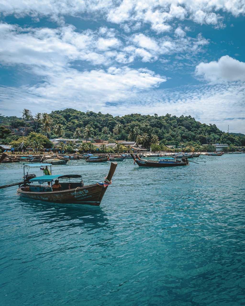 Aankomst op Koh Phi Phi