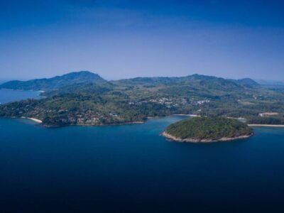 Layan Beach On Phuket Seen From The Air