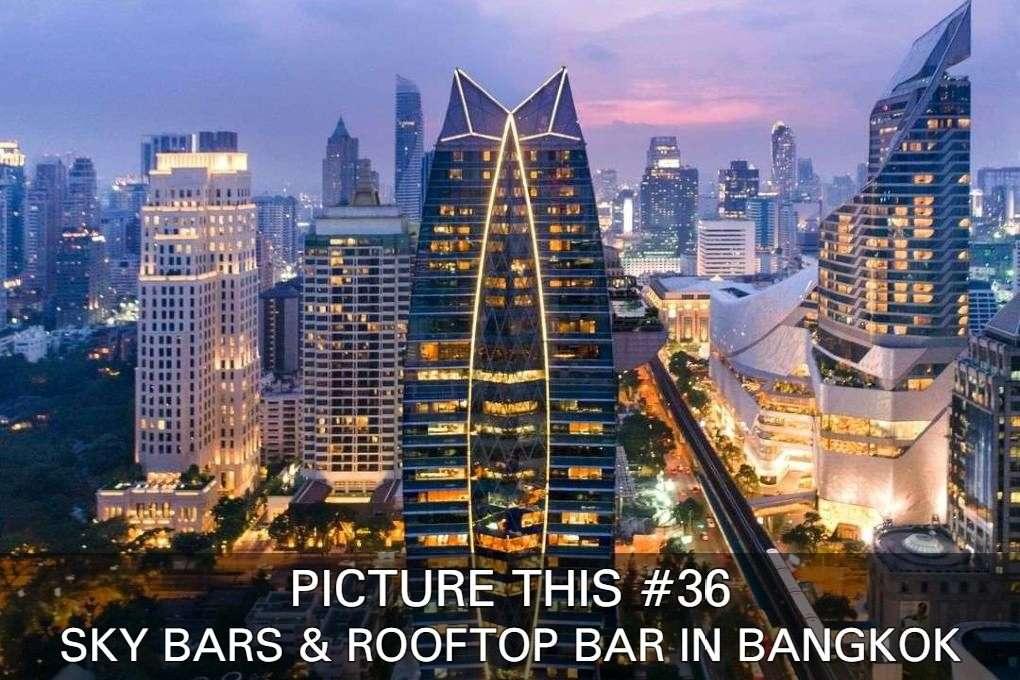 Bekijk Een Aantal Prachtige Foto's Van Sky Bars En Rooftop Bars In Bangkok Van Up & Above, Sirocco At Lebua En Octave Rooftop Lounge & Bar