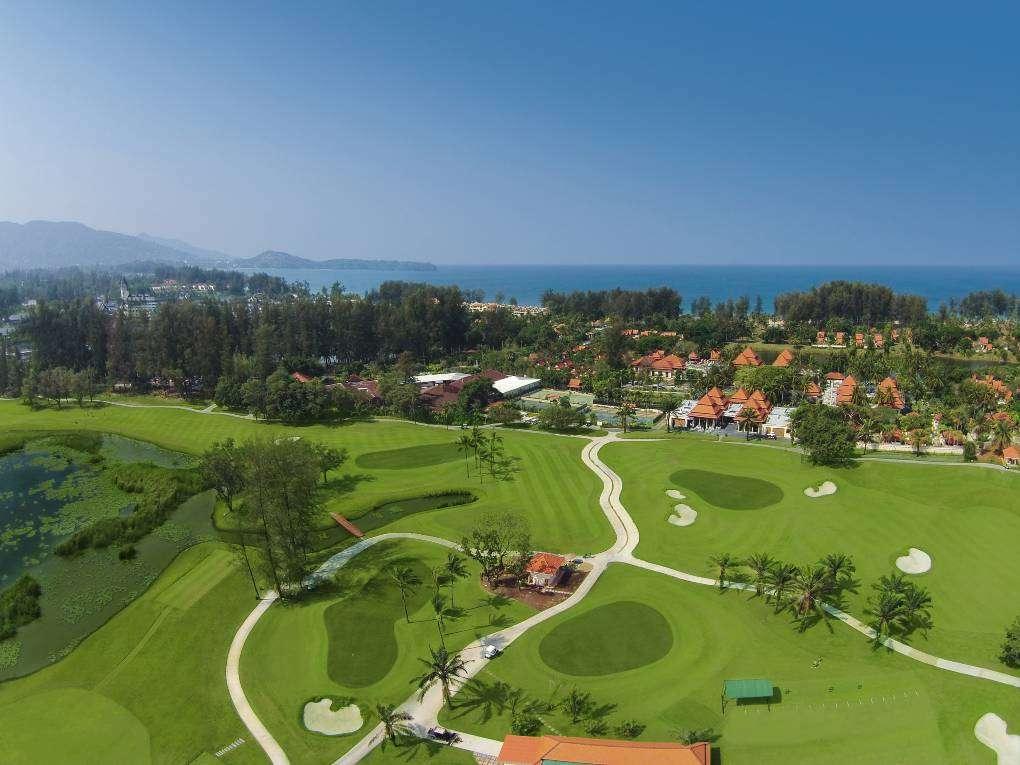 Laguna Golf Phuket seen from the air