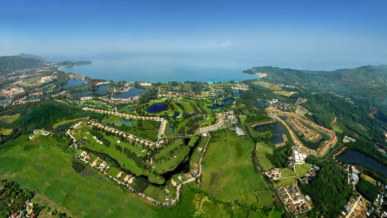 Laguna Phuket seen from above