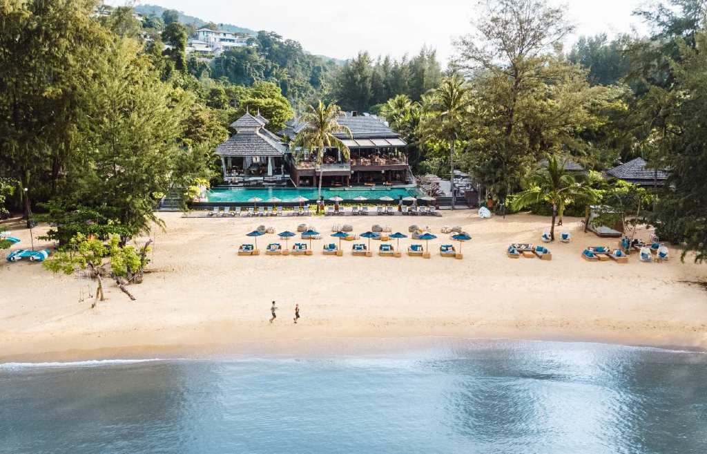 Het terrein van de Layan Residences by Anantara op Phuket