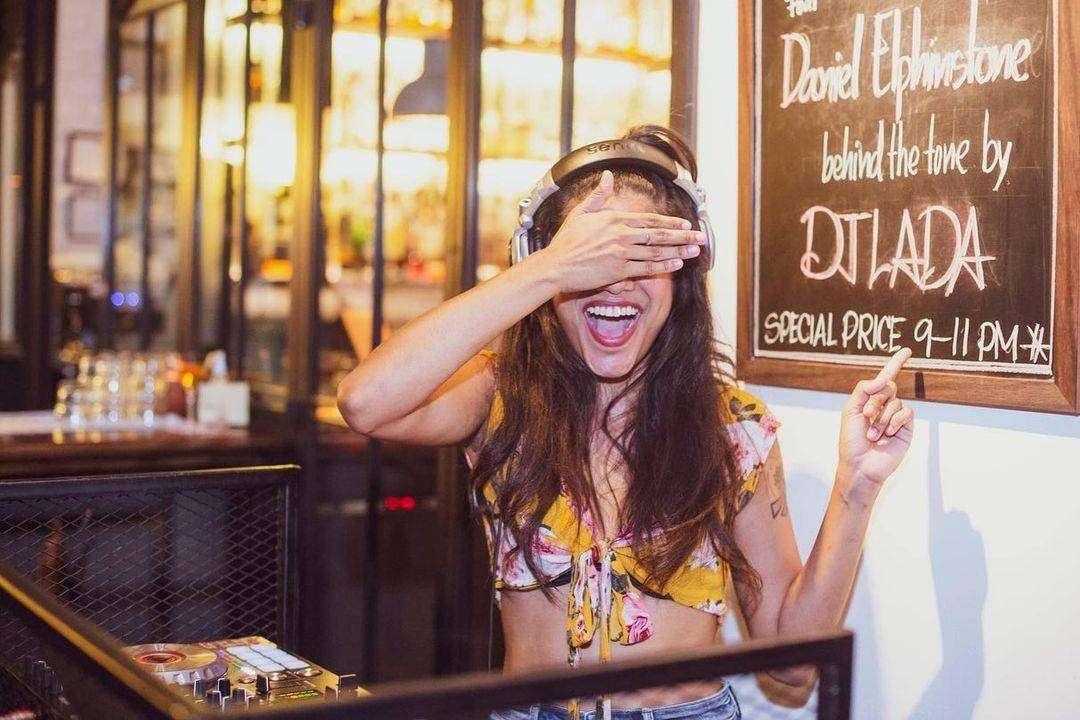 DJ Lada at Mrs. B Bar & Table in Boat Avenue near Bang Tao Beach on Phuket