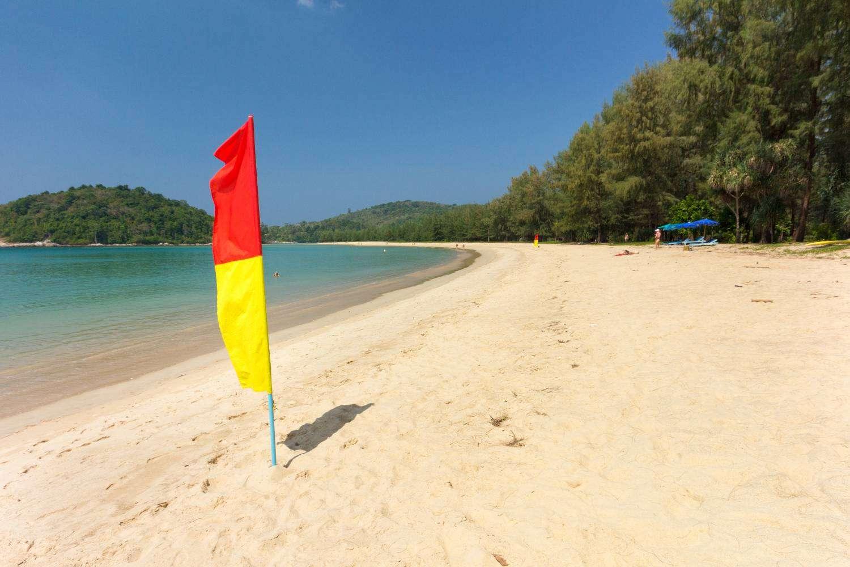 North of Bang Tao Beach against Layan Beach on Phuket