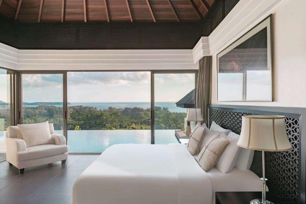 Slaapkamer van The Pavilions Phuket Pool Villa