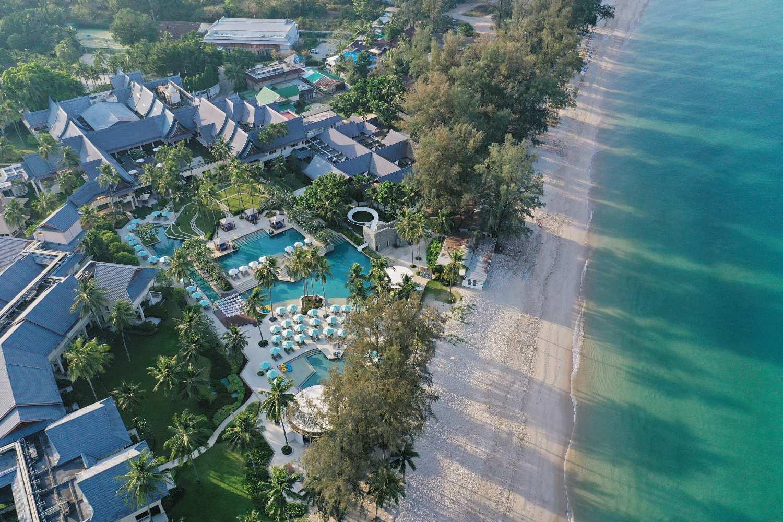 The Saii Laguna Phuket seen from above