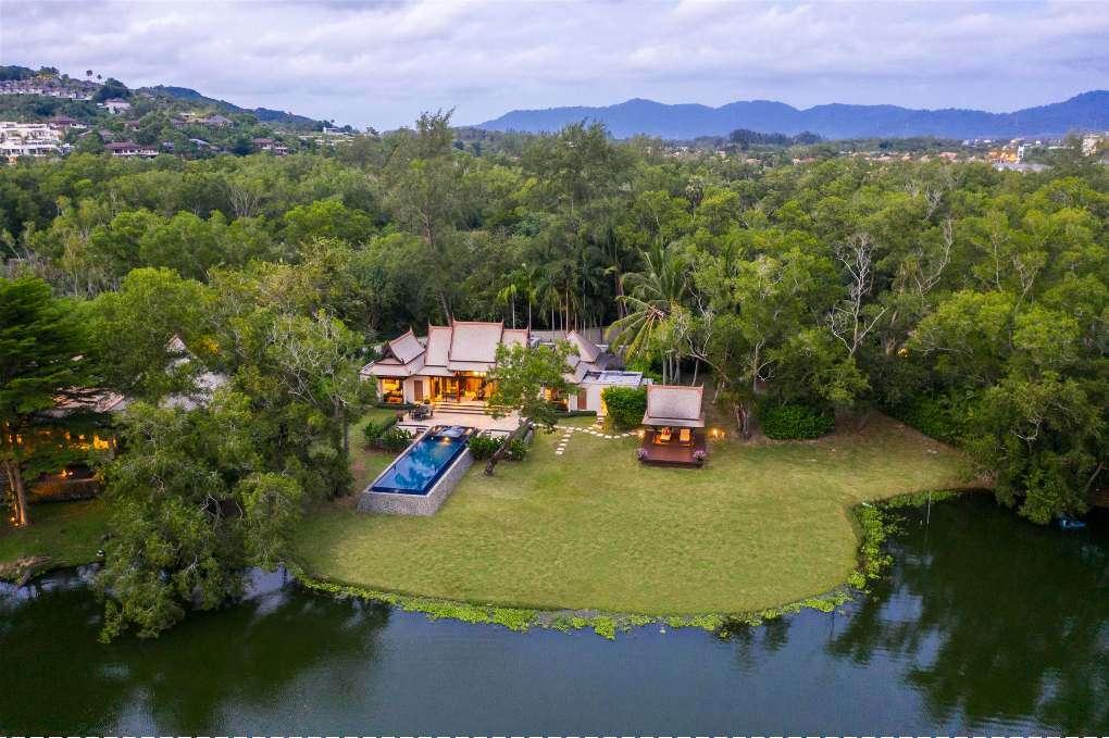 Double Pool Villa of the Banyan Tree Phuket near Bang Tao Beach