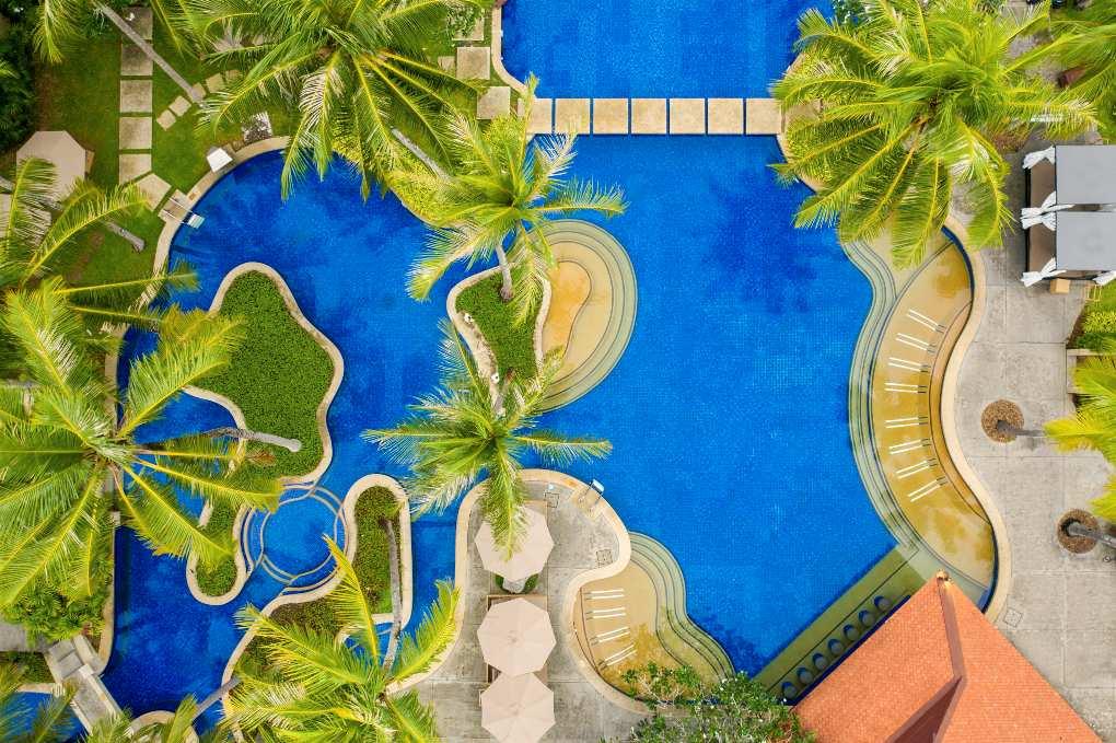Pool of Banyan Tree Phuket near Bang Tao Beach