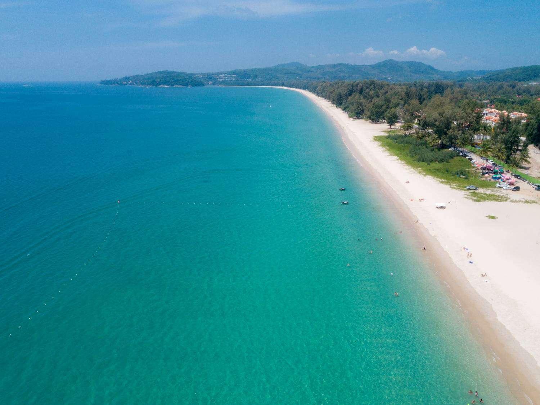 The sea of Bang Tao Beach on Phuket