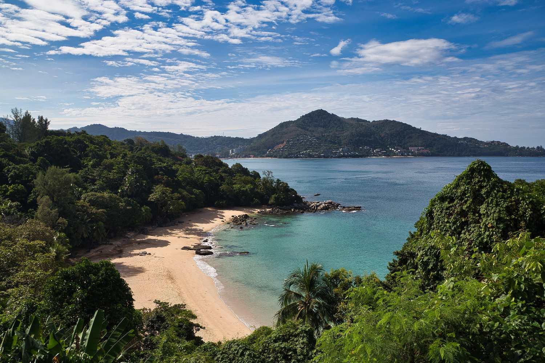 Laem Sing Viewpoint op Phuket, Thailand
