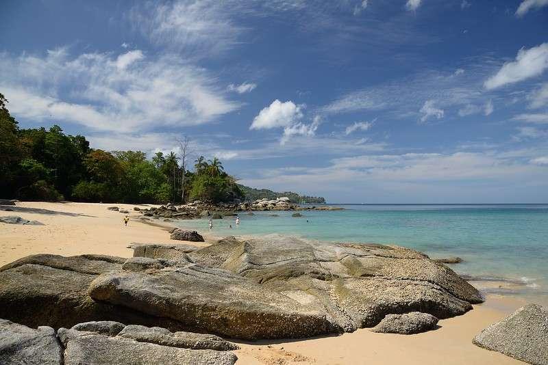 Laem Sing Beach op Phuket, Thailand