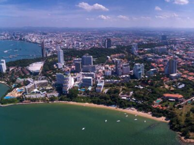 A Beach At Pattaya