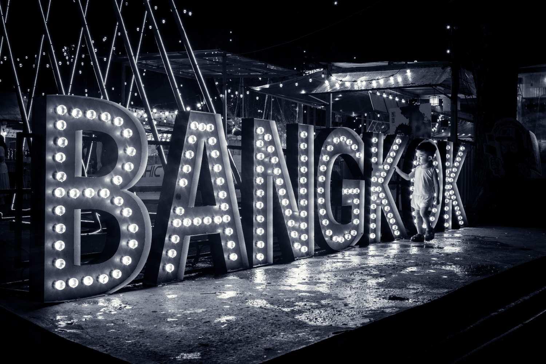 Illuminating letters with Bangkok