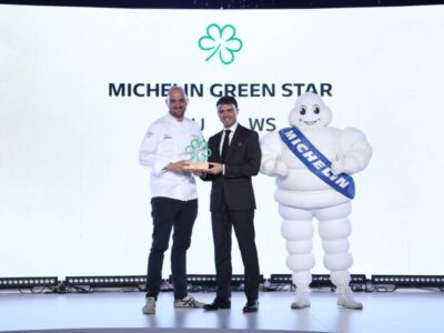 Jim Ophorst Handing Over The First Michelin Green Star In Thailand