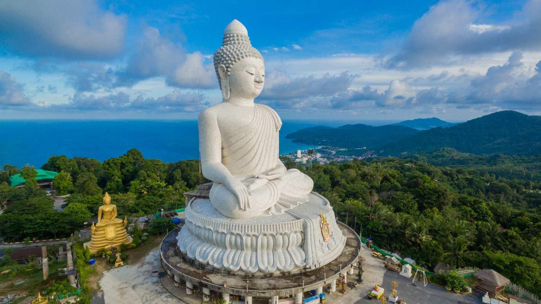 The Grote Boeddha van Phuket, Thailand