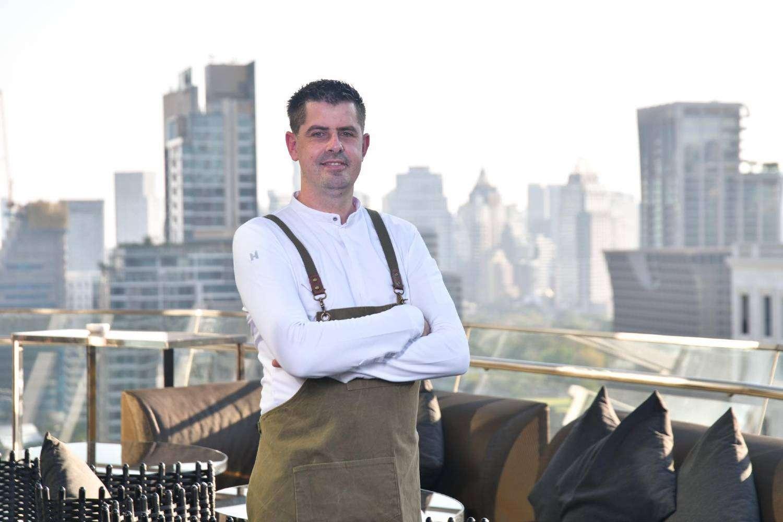 Sebastiaan Hoogewerf, executive chef van The Okura Prestige Bangkok