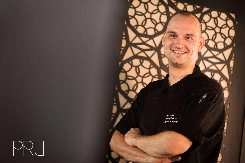 Jim Ophorst, de chef de cuisine van PRU, het enige Michelinsterrenrestaurant op Phuket
