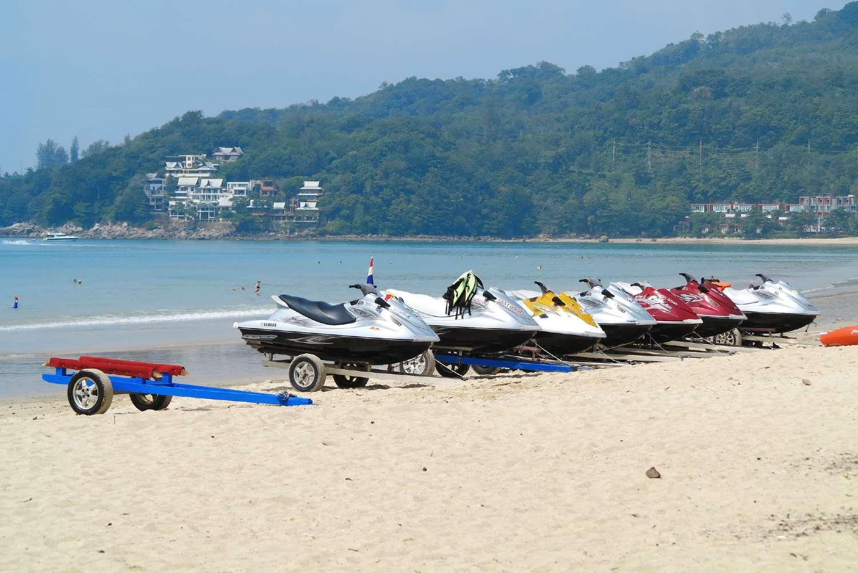 Jetskies on Kamala Beach
