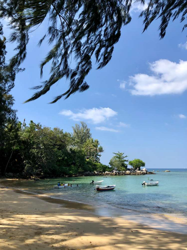Hua Beach on Phuket
