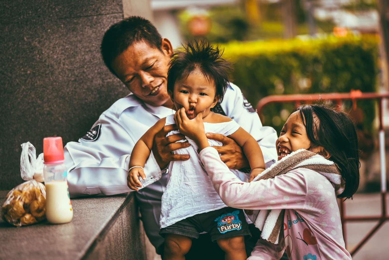 Thais family in Bangkok