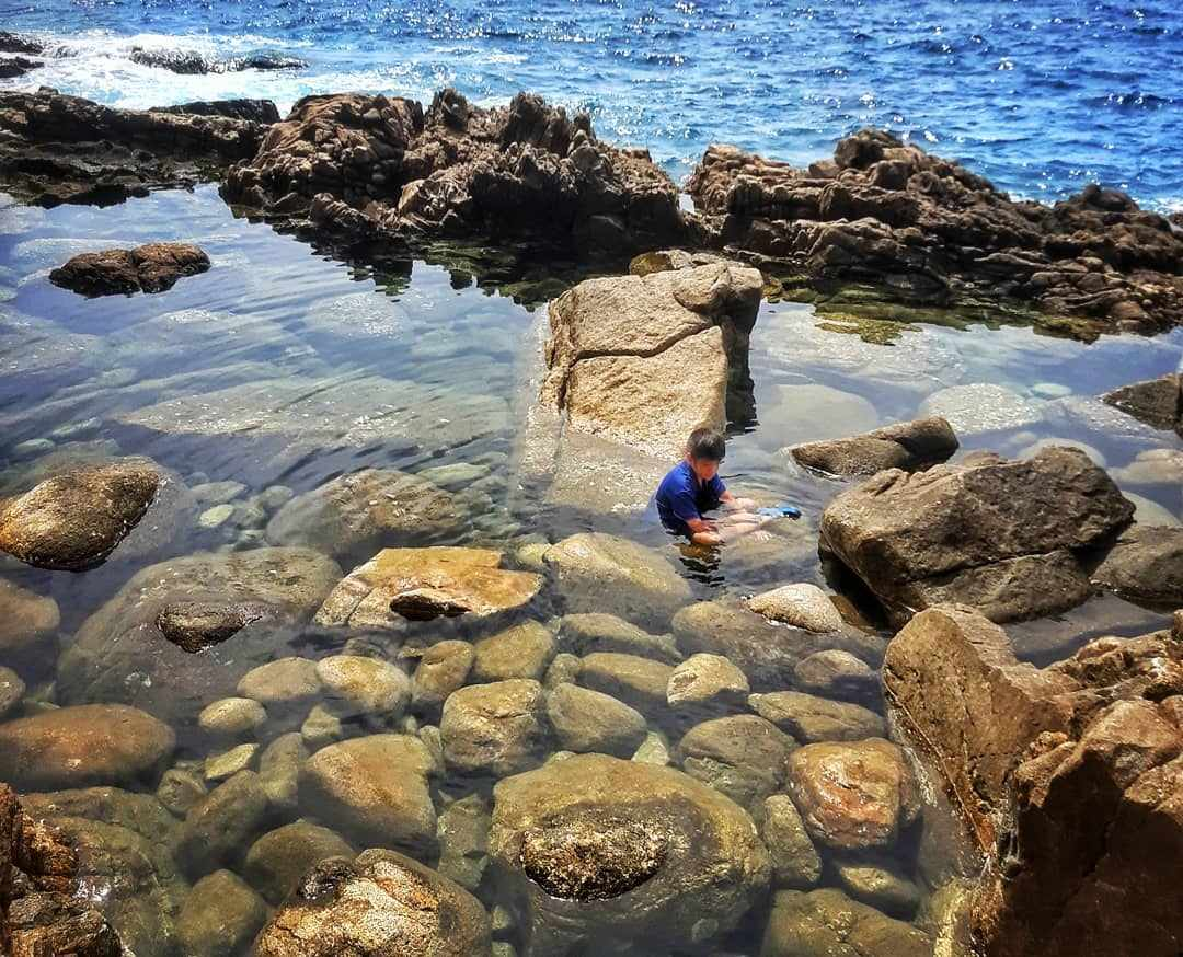 The Hidden Rock Pond / Chom Dao Viewpoint near  Kamala Beach on Phuket