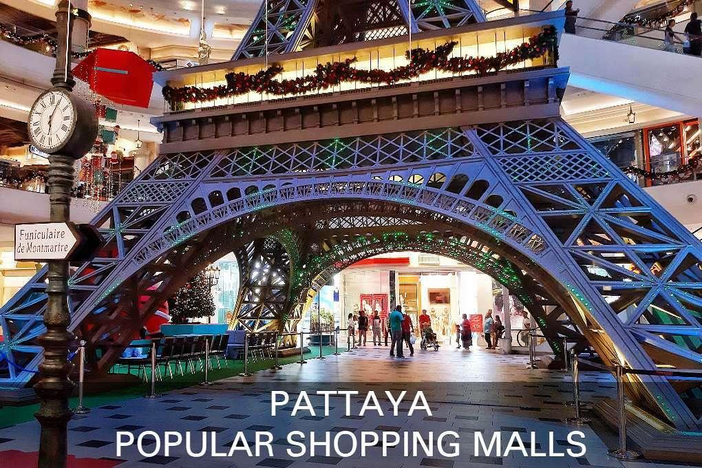 Pattaya Therminal 21 shopping mall