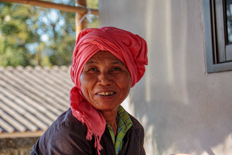Karen woman near Chiang Mai, Thailand