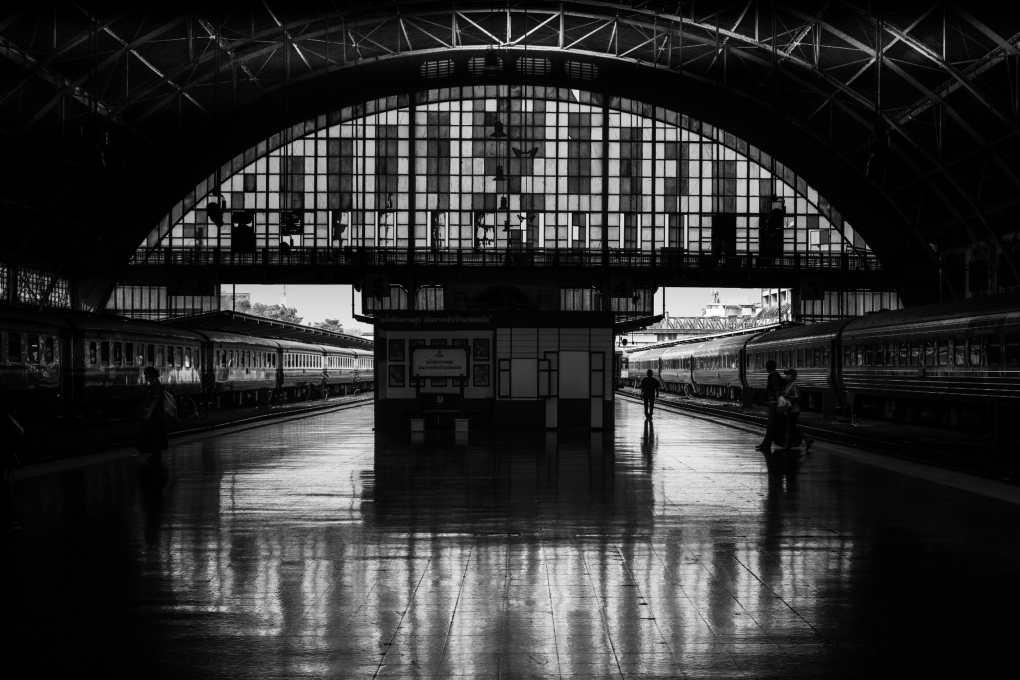 Bangkok's old central station, Hua Lamphong Station