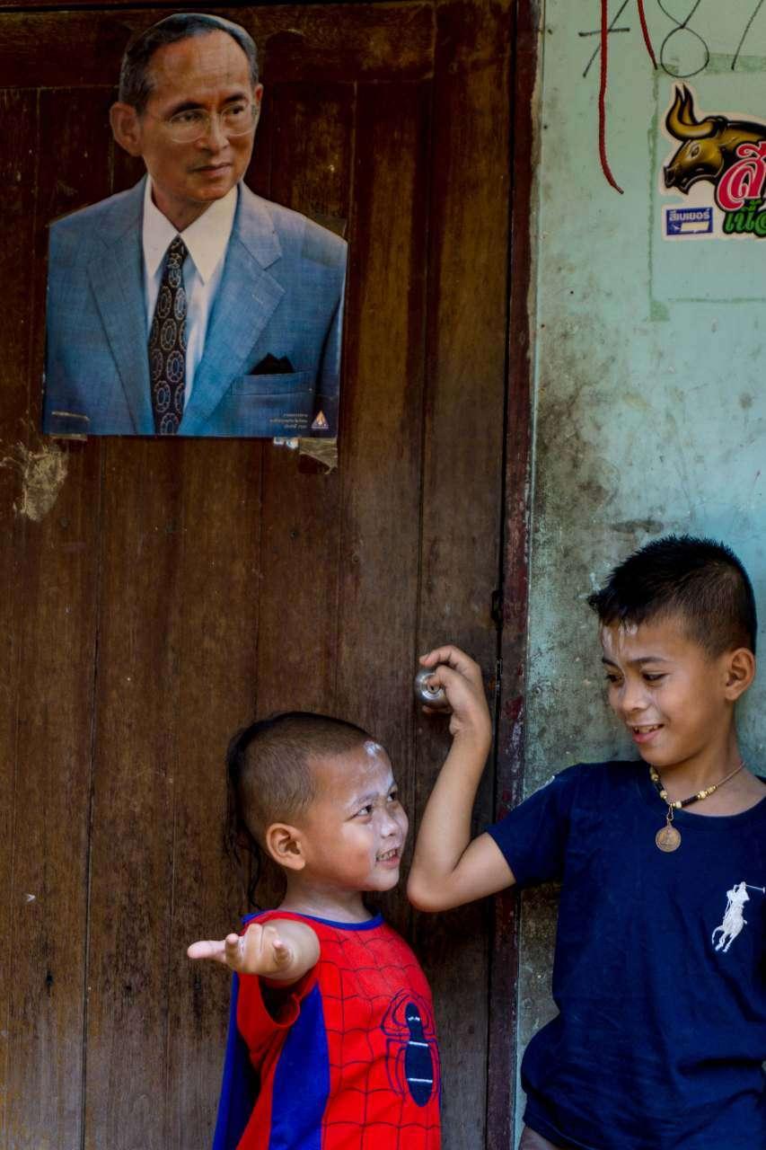 Children of Khlong Toey in Bangkok