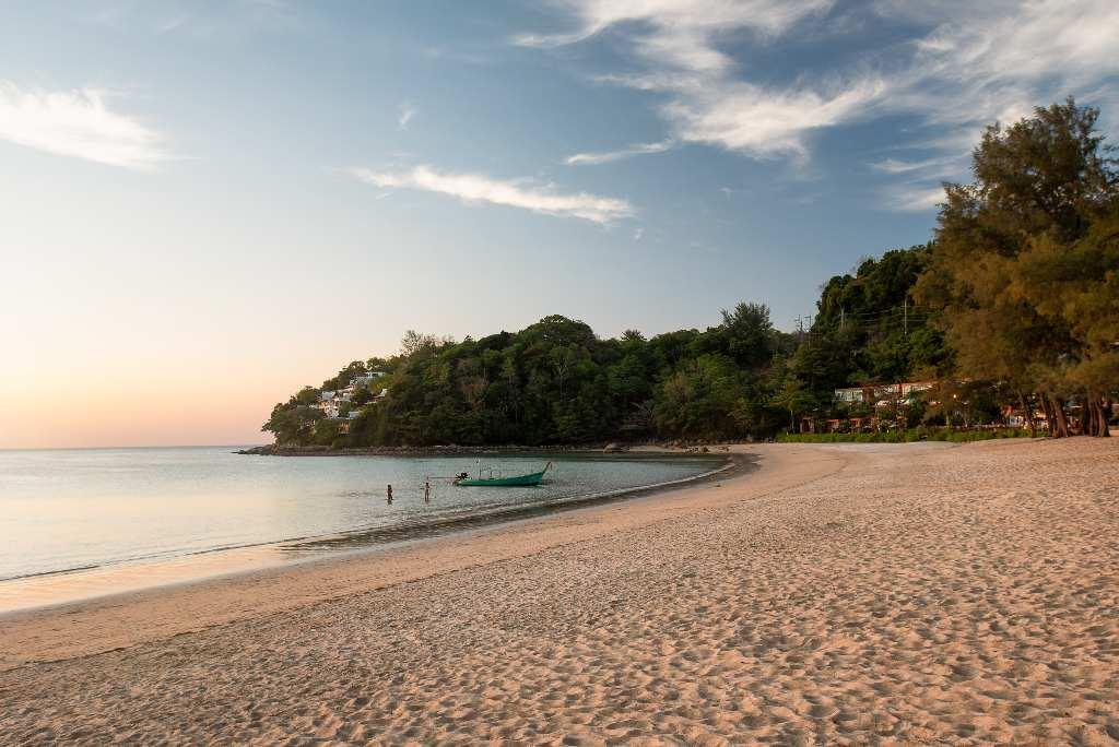 The north end of Kamala Beach on Phuket