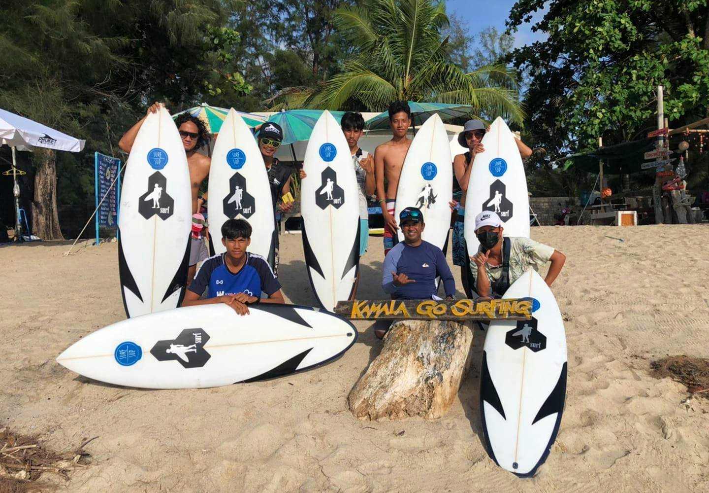 Kamala Go Surfing on Kamala Beach