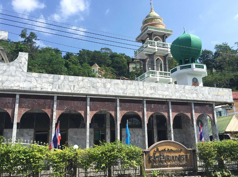 De Kamala Mosque at Kamala on Phuket