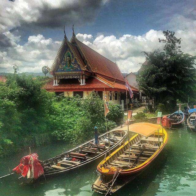 Wat Baan Kamala (Kamala Tempel) on Phuket