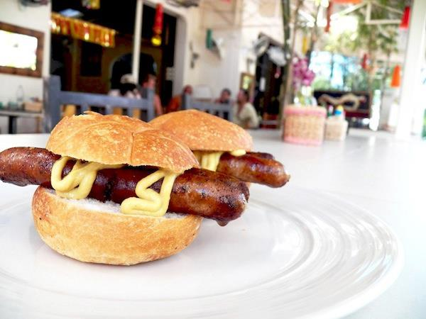 Bratwurst at Kokosnuss in Kamala Village on Phuket