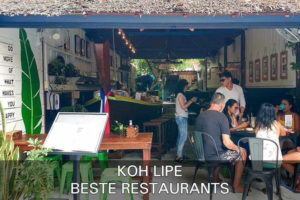 Bekijk De Beste Restaurants Op Koh Lipe In Thailand