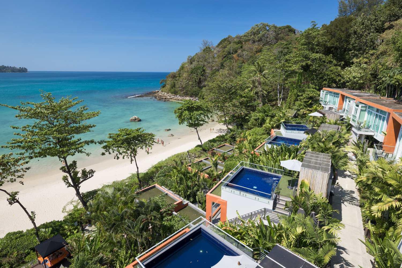 Pool villas of the Novotel Kamala on Phuket