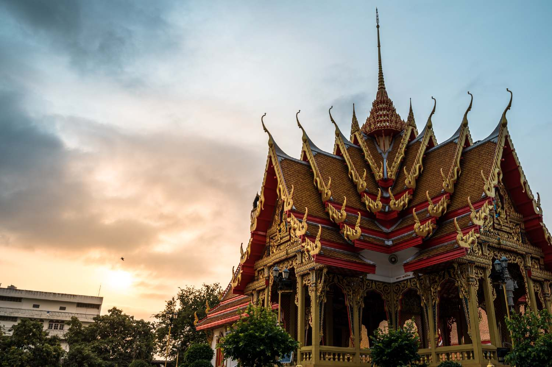 Wat Mahabut temple  in Bangkok